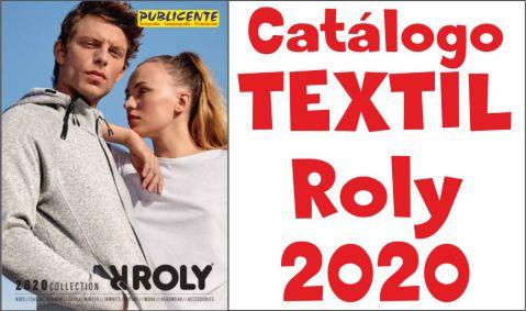 Ver/Descargar Catalogo Textil Roly 2020
